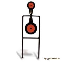 Double Mag Circle Spinner двойная вращающаяся мишень, для нарезного оружия 46244