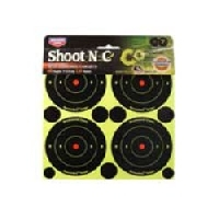 Мишень Shoot N C проявляющаяся от попадания в комплекте с восстанавливающими наклейками.