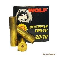 Гильза латунная 20/70 ТПЗ WOLF (25шт.)