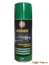 Оружейное масло Gunex  2000 Klever-Ballistol spray  (200ml)