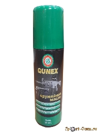 Оружейное масло Gunex 2000 Klever-Ballistol spray (50ml)