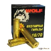 Гильза латунная 16/70 ТПЗ WOLF (25шт.)