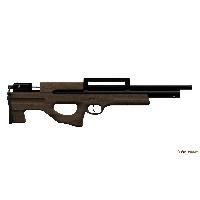 Винтовка пневматическая Атаман БУЛЛ-ПАП орех M2R калибр 6,35 мм.(416 RB) (с магазином)