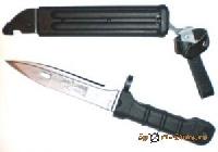 Нож сувенирный 6Х5 (черная ручка)