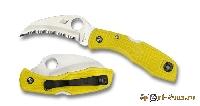Нож складной Spyderco Tasman Salt Yellow SC/106SYL
