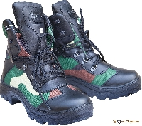Ботинки Альпы облегченные (комбинир/ткань) 525-1