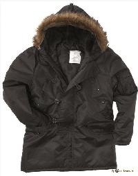 Куртка N3B АЛЯСКА black 10180/10181002
