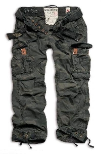 Брюки SURPLUS PREMIUM VINTAGE BLACK CAMO  53597.42