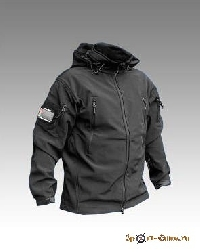 Куртка GARSING «ОПЕРАТИВНИК» SOFT SHELL черная GSG-4