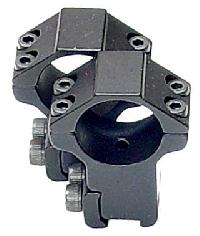 RGPM-25H4 Кольца Leapers 25,4 мм для установки на призму 10-12 мм, высокие