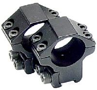 RGPM-30M4 Кольца Leapers 30 мм  для установки на оружие с призмой 10-12 мм, средний