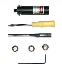 Набор для холодной пристрелки пневматики.Калибр 4.5,5.5 и нарезного 5.6