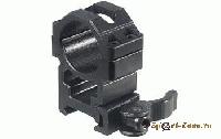 Кольца Leapers UTG 25,4 мм быстросъемные на Weaver с винтовым зажимом, низкие.