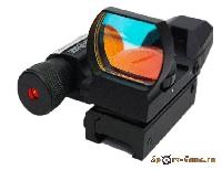 Прицел коллиматорный Sightmark SM/13002  Weaver c ЛЦУ