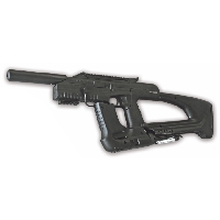 Пневматический пистолет-пулемет Дрозд661-бункер