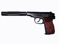 Пневматический пистолет МР-654-к с доработкой