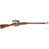 Оружие  охолощенное Винтовка Мосина снайперская (СО-СВМ)