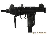 Пистолет-пулемет пневматический Gletcher UZM