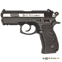 Пневматический пистолет CZ 75D compact DT двухцветный металл