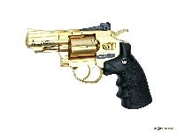 Револьвер пневматический Dan Wesson 2.5 золотистый