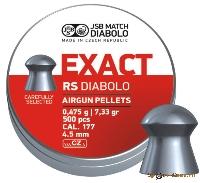 Пули Exact RS Diabolo  0,475 g.