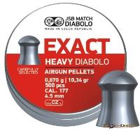 Пули Exact Diabolo Heavy 0,670g (500шт.)