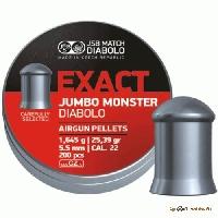 Пули Exact Diabolo Jumbo Monster 1,645g (5,5) 200шт.