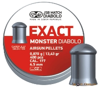 Пули Exact Diabolo Monster 0,87g (400шт.)