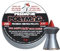Пули Predator Polymag (8 gr.) 200шт. 4.5mm