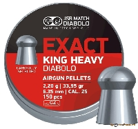 Пули Exact King Heavy 2,200g. (6,35) 300шт.
