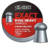 Пули Exact King Heavy 2,200g. (6,35) 300шт.