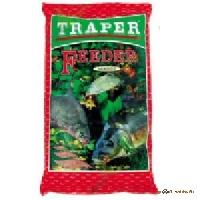 TRAPER Secret Feeder red (Фидер красный) 1кг Прикормка привлекающая