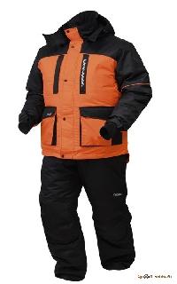 Костюм зимний Нерпа (оранжевый-черный) С302-3