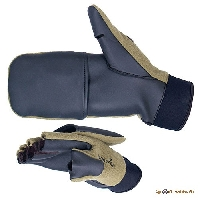 Перчатки-варежки Norfin WINDSTOP отстегивающиеся 703056