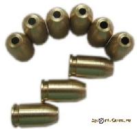 Патрон - картриджи(латунь). Для стартового пистолета МР 371.Цена за 1-у шт.