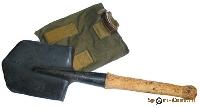 Лопата малая пехотная с чехлом