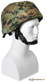 Чехол на каску Mich Woodland Digital Camo. ROTHCO код 9653