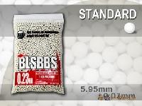 Шарики BLS 0,23  (1кг, белые, пакет)