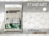 Шарики BLS 0,28  (1кг, белые, пакет)
