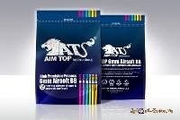 Шарики AIM TOP 0,23  (4300 шт., белые, пакет)