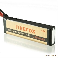 Аккумуляторная батарея Firefox 11,1V Li-Po 1600 mAH 12C BG778 100X33X17MM