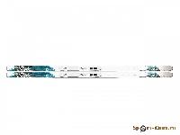 N35211/ Беговые лыжи DESIRE MY STYLE с креплениями S/164,M/174,L/184