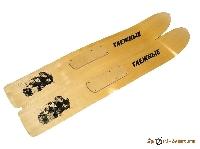 Лыжи Рыбацкие деревянные 125см (шир.110мм)
