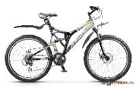 Велосипед Challenger Disc 26 21-ск, 2-х подвес., рама сталь