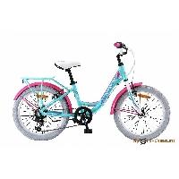 Велосипед Pilot-260 20 6-ск., 2-х подвес, рама сталь