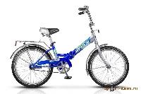 Велосипед Pilot-310 20 1-ск., складной, рама сталь