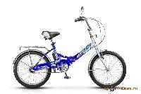 Велосипед Pilot-430 20 3-ск., складной, рама сталь