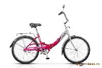 Велосипед Pilot-810 24, 1-ск., рама AL, складной