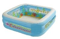 Бассейн детский Аквариум квадрат 57471