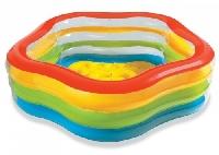 Бассейн Цветное лето 185х180х53 56495